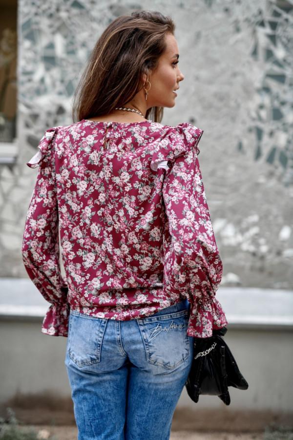 Bluzka w kwiaty LUCILE 2