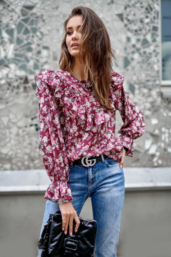 Bluzka w kwiaty LUCILE