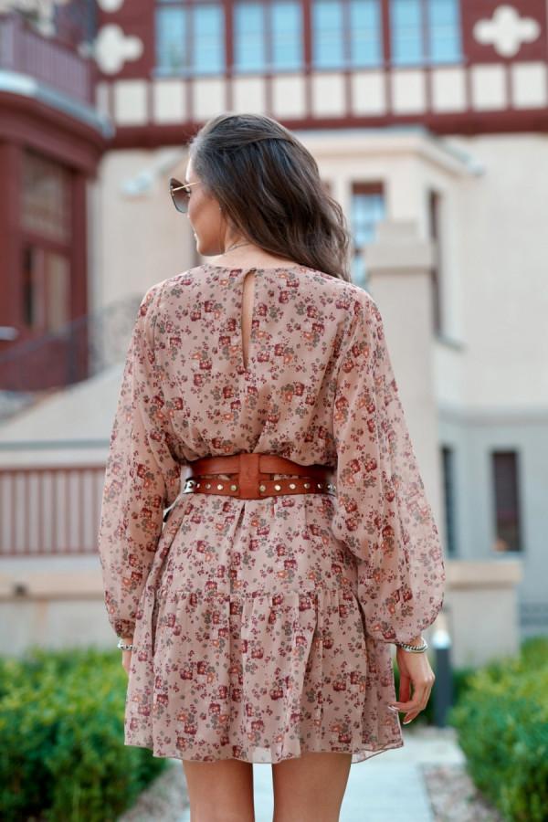 Sukienka w kwiaty MONICA 2
