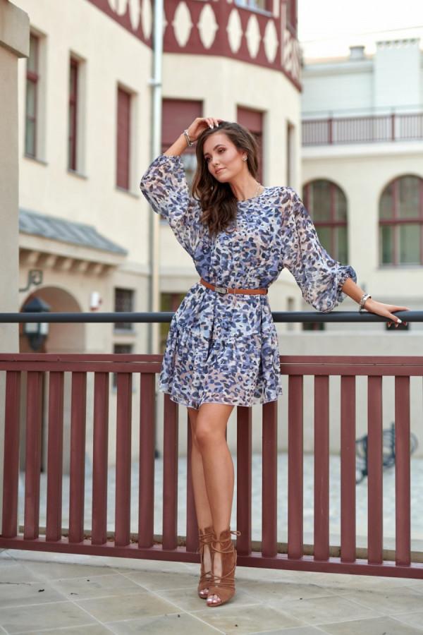Sukienka w cętki MONICA 1