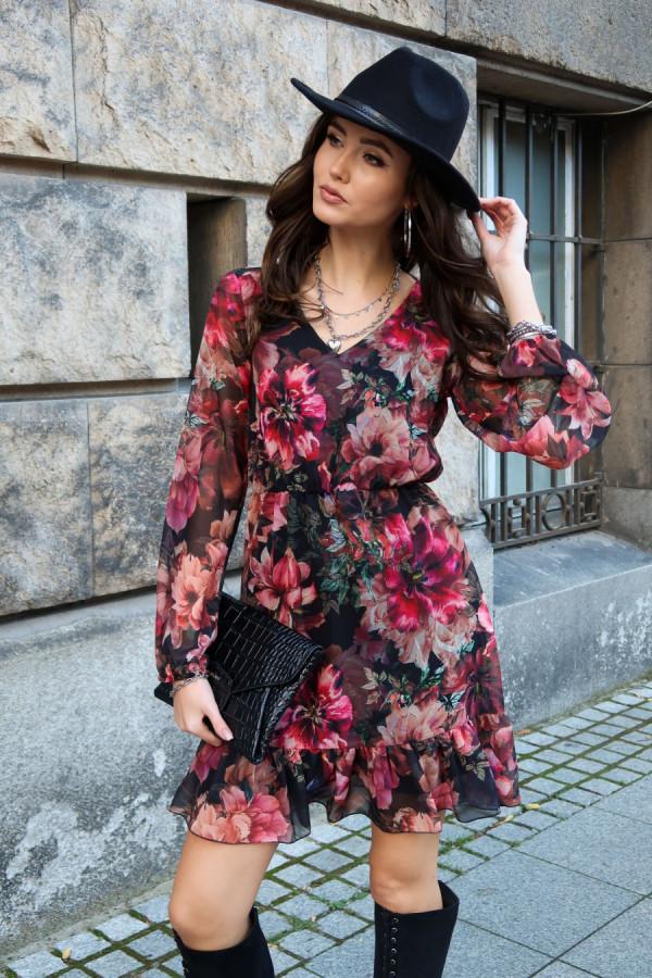 Szyfonowa sukienka SURI