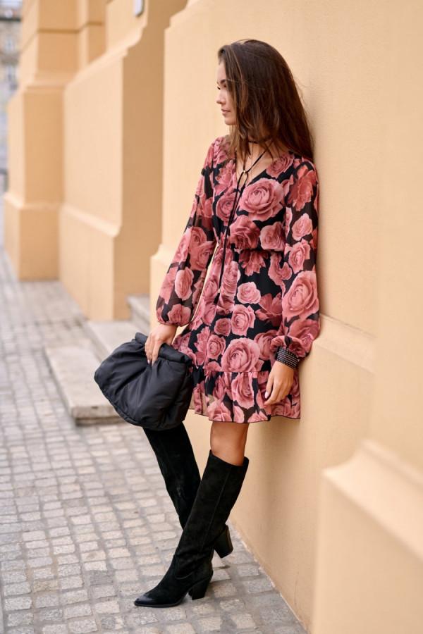 Szyfonowa sukienka SURI 1