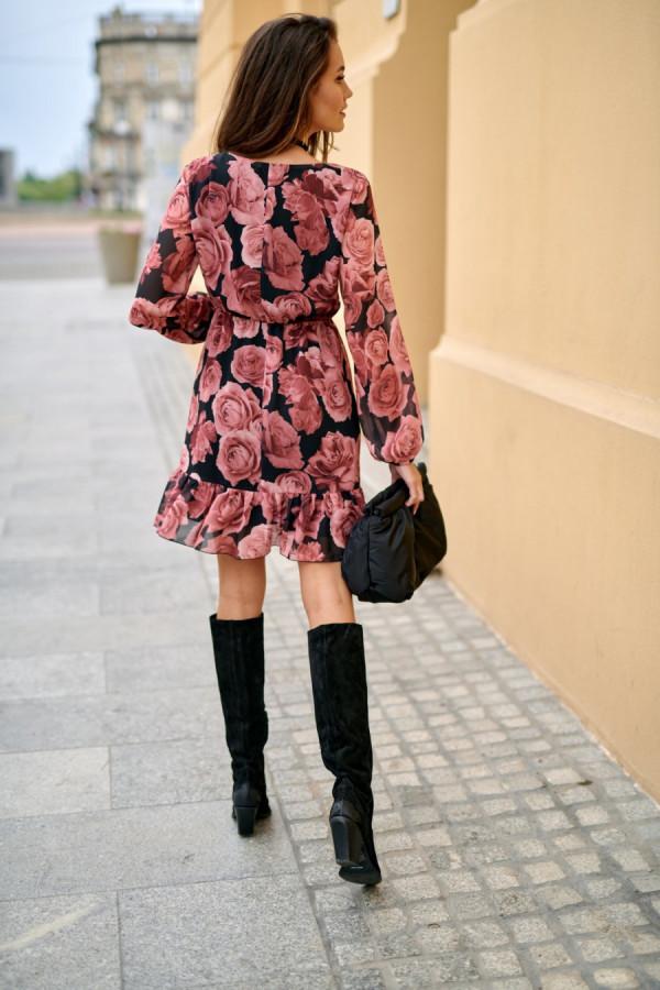 Szyfonowa sukienka SURI 2