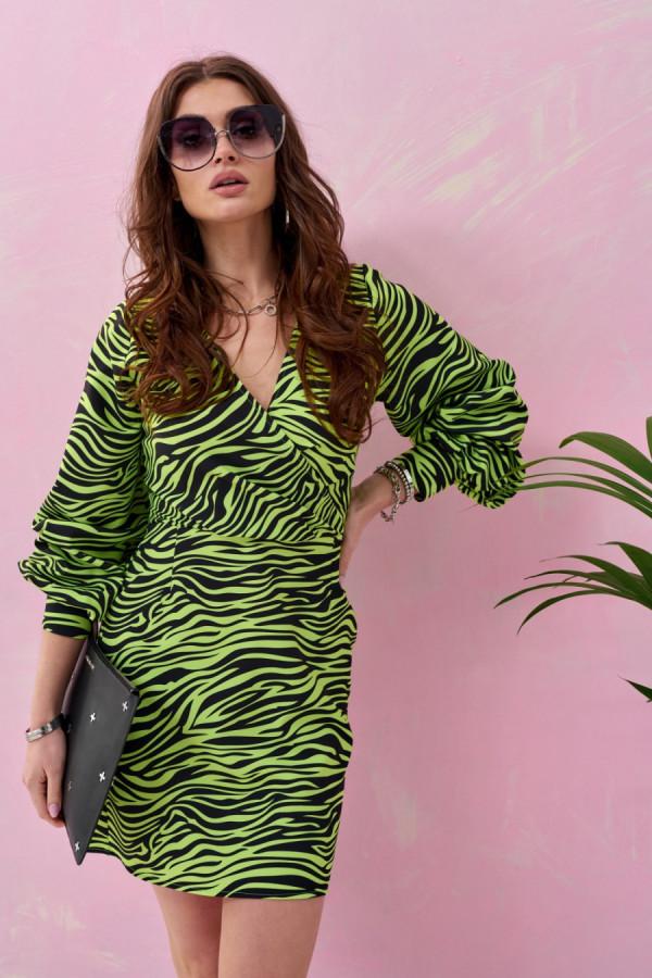 Sukienka mini zebra WILD 1