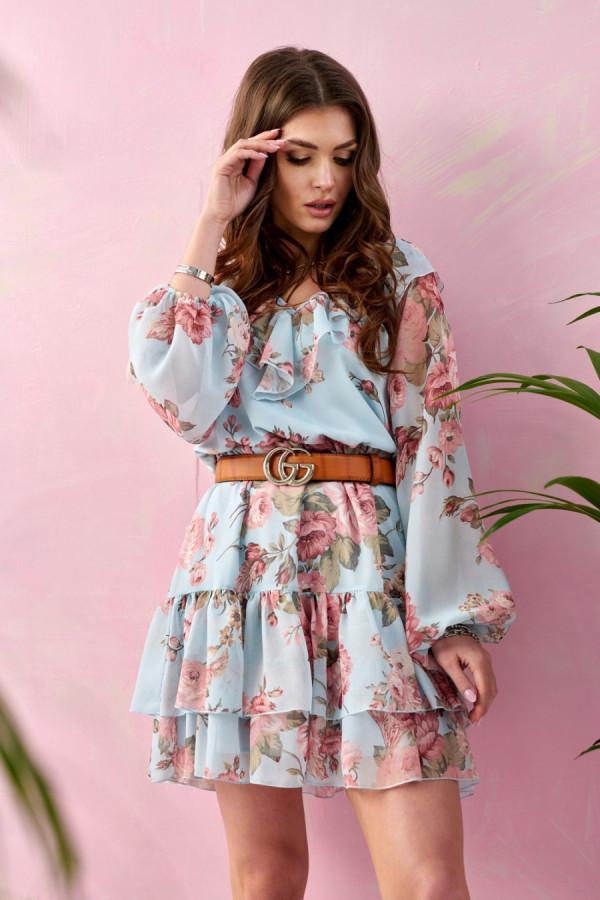 Sukienka z falbanami MORISS 2