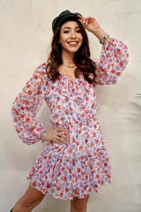 Sukienka z falbanami MORISS 1