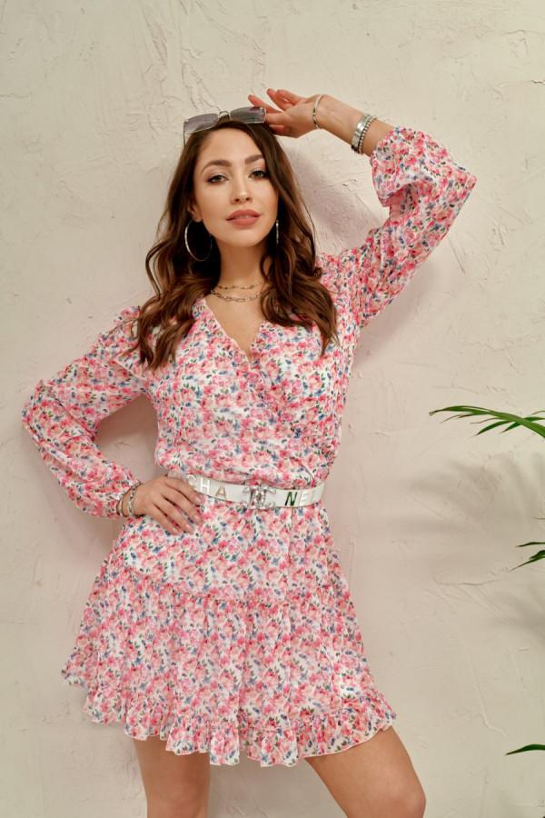 Sukienka w kwiaty LADY
