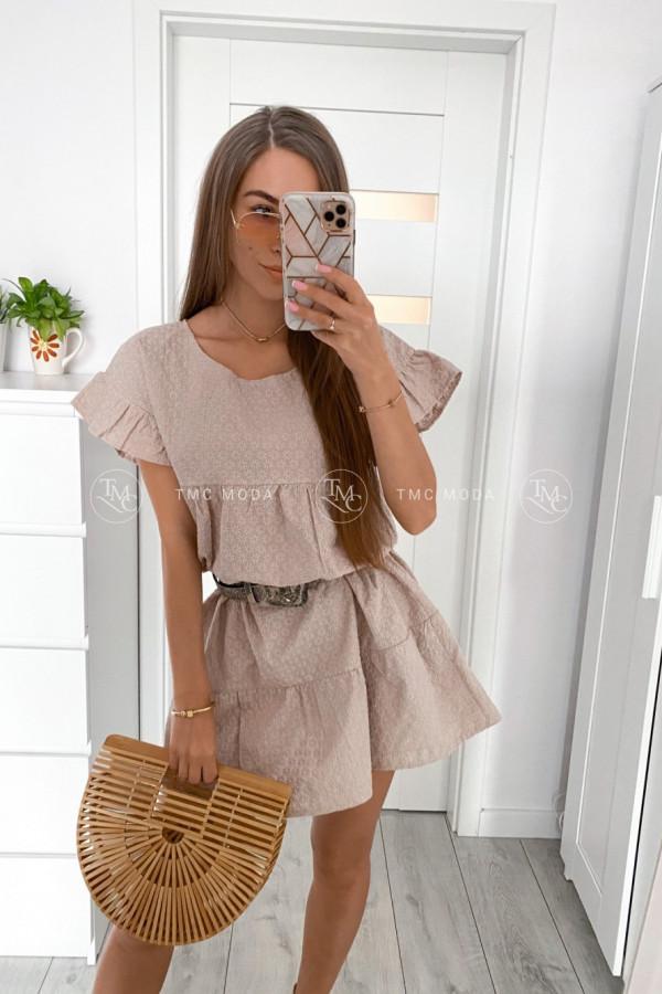 Sukienka haft BUTTERFLY