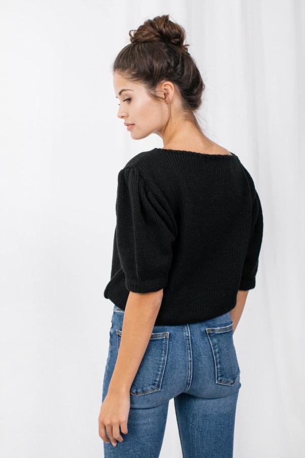 Sweter z bufkami SWAN 3