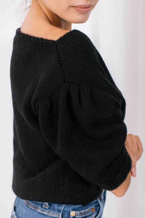 Sweter z bufkami SWAN 4
