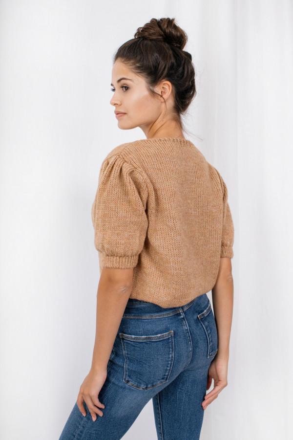 Sweter z bufkami SWAN 2