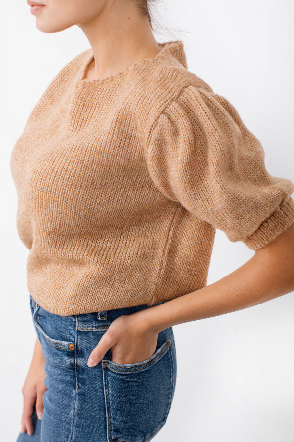 Sweter z bufkami SWAN 6