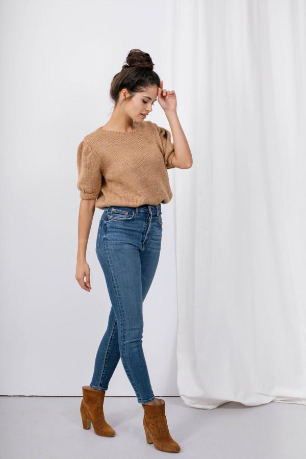 Sweter z bufkami SWAN 5