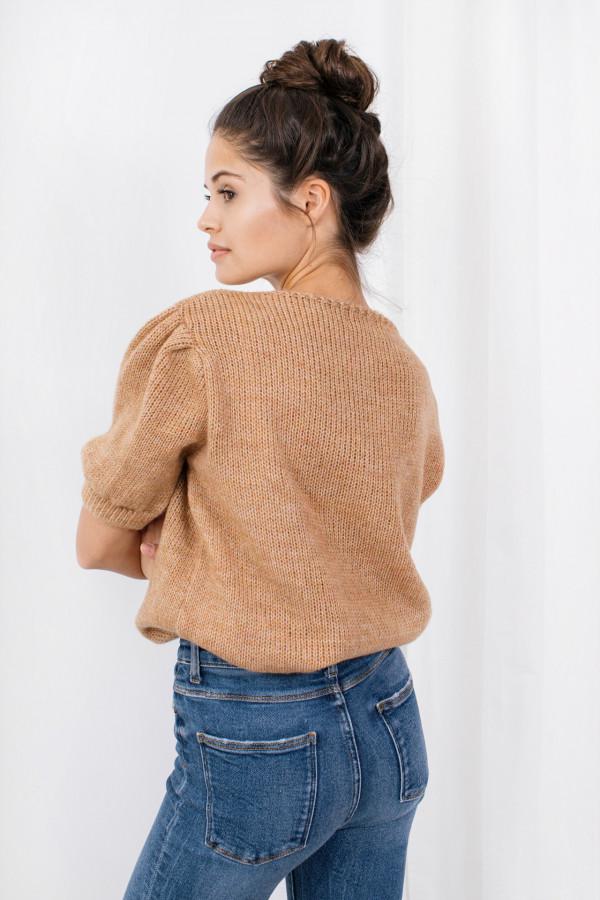 Sweter z bufkami SWAN 1