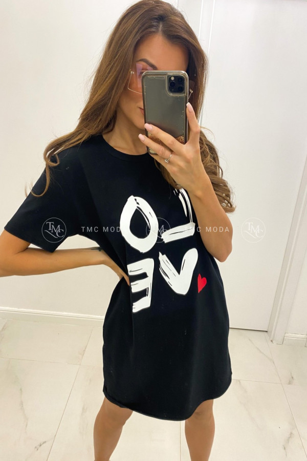 T-shirt'owa tunika LOVE