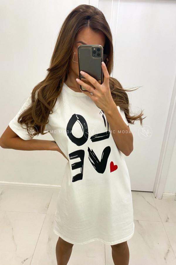 T-shirt'owa tunika LOVE 1