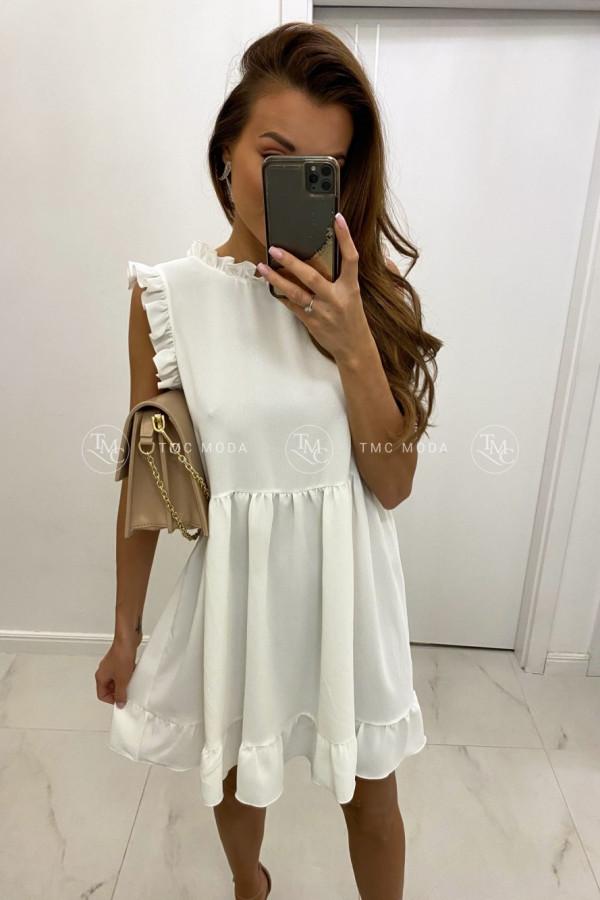 Sukienka z falbanką RAISA 1