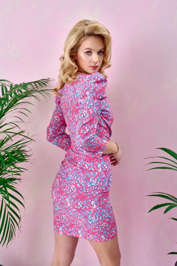 Sukienka z bufkami MARGARET 2