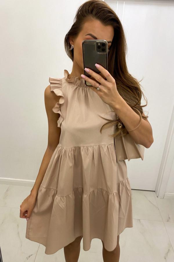 Sukienka z falbanką GRACE