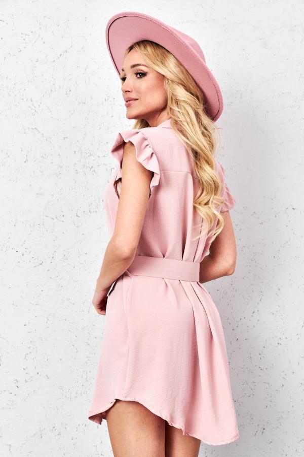 Sukienka szmizjerka LEONA 3