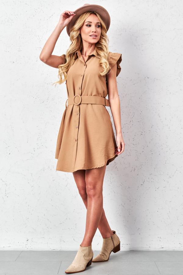 Sukienka szmizjerka LEONA 1