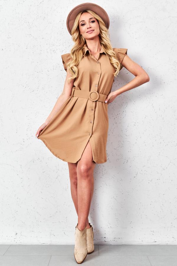 Sukienka szmizjerka LEONA