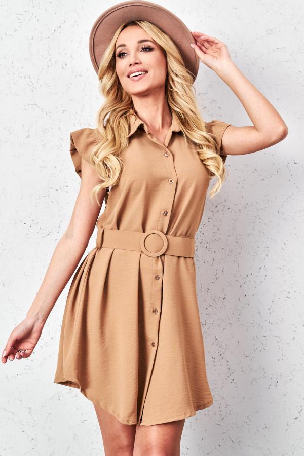Sukienka szmizjerka LEONA 2