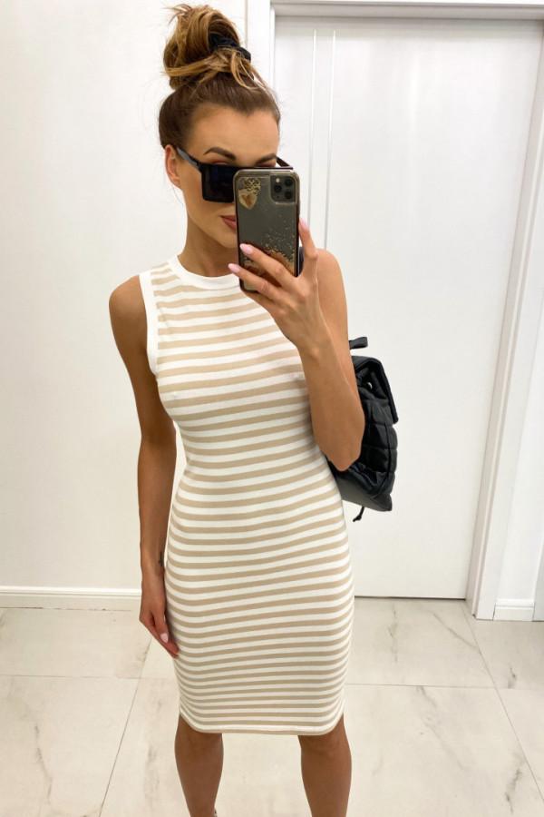 Sukienka basic STRIPES 1