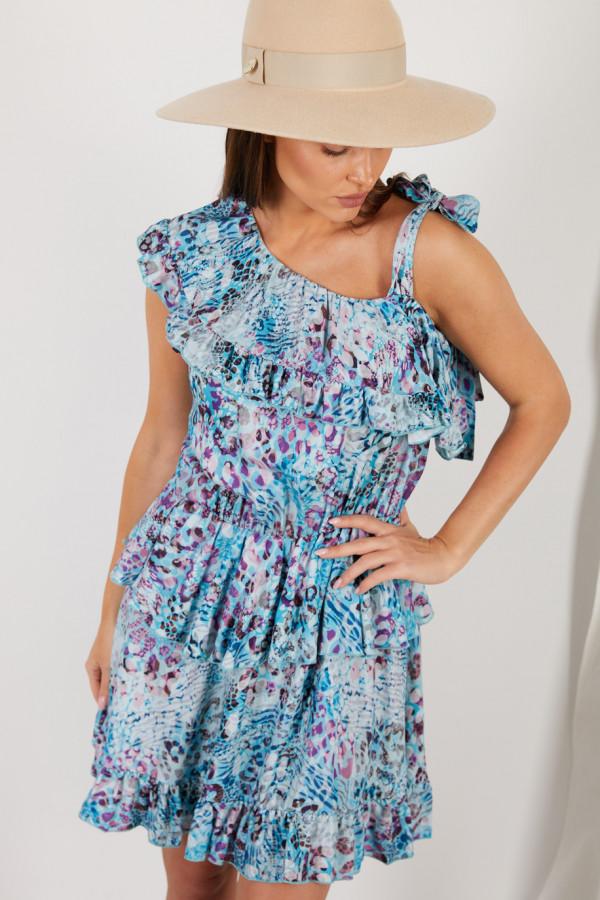 Sukienka z falbanami MIRA 4