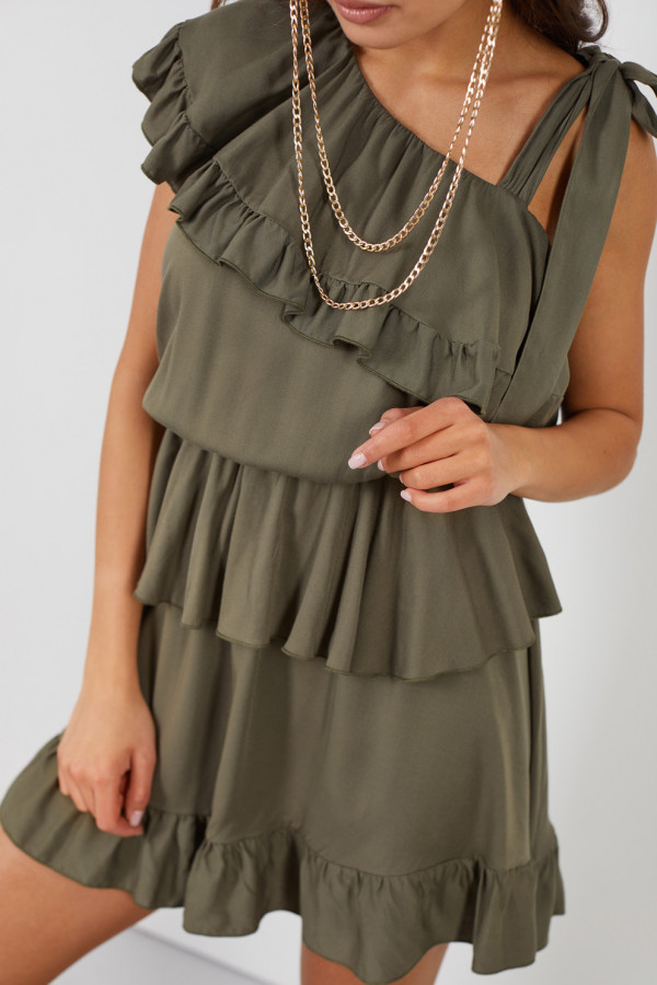 Sukienka z falbanami MIRA 3