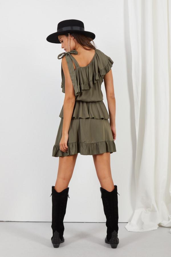 Sukienka z falbanami MIRA 5