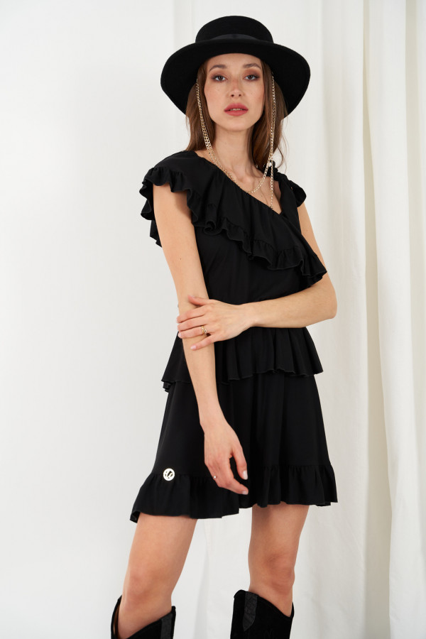 Sukienka z falbanami MIRA