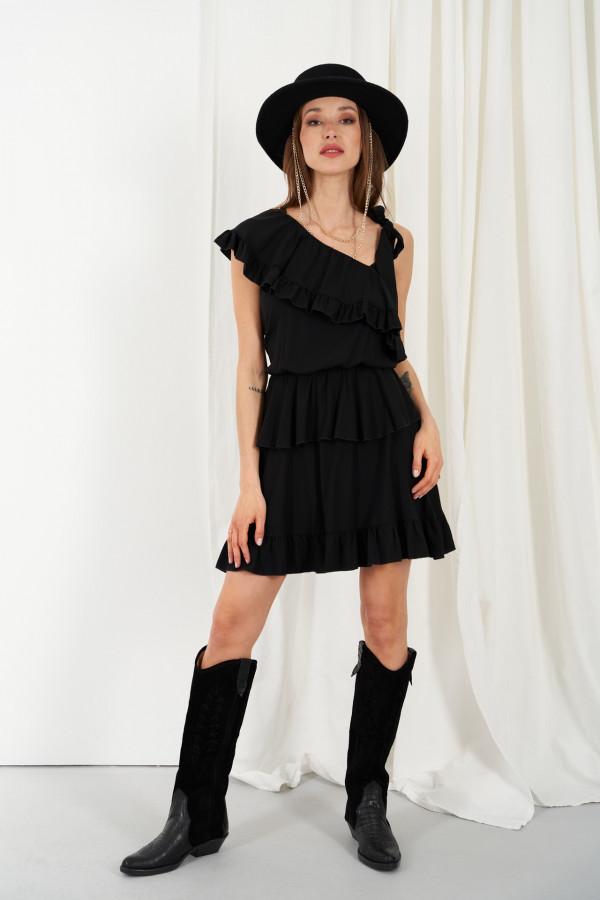 Sukienka z falbanami MIRA 1