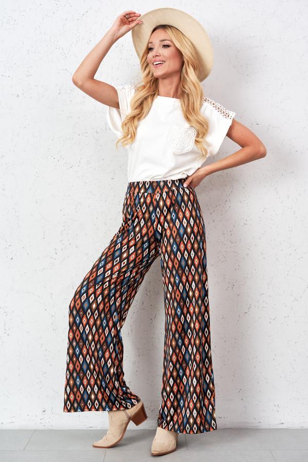Spodnie we wzory AGATHA