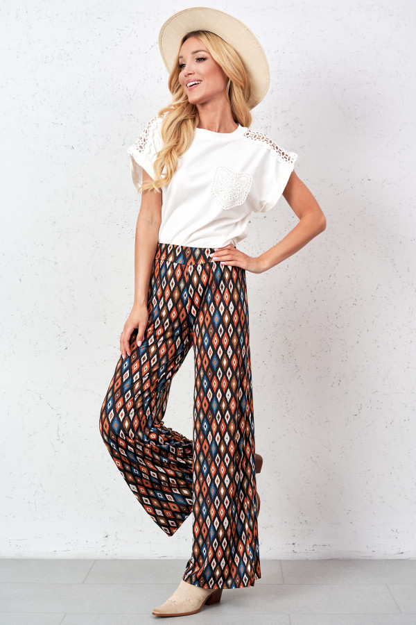 Spodnie we wzory AGATHA 1
