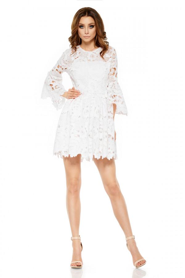 Wizytowa sukienka z koronki ROMANTIC 2