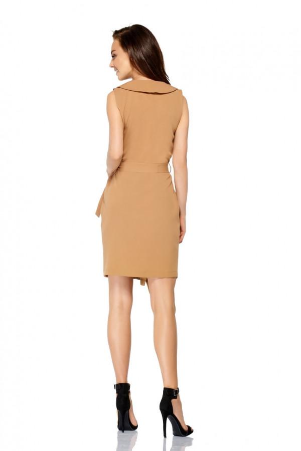 Sukienka kopertowa bez rękawów MAYA 1