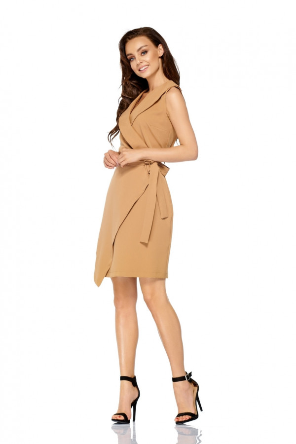 Sukienka kopertowa bez rękawów MAYA 2