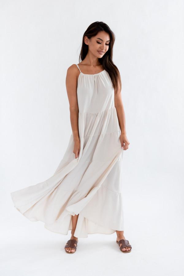 Sukienka maxi ROSSA 3