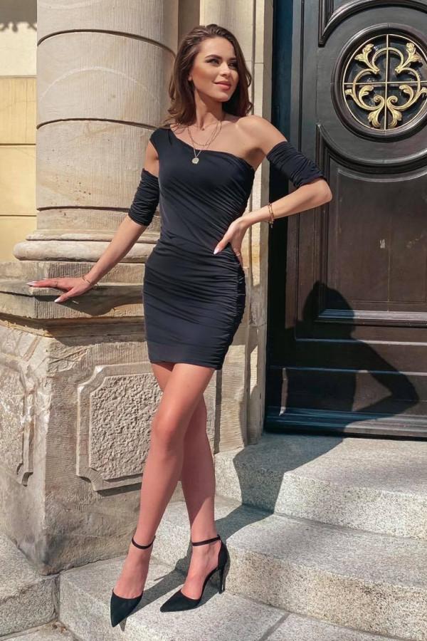 Sukienka z rękawkami SASSY 1