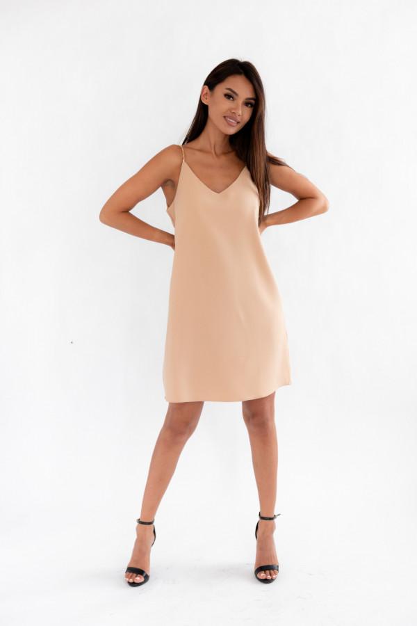 Sukienka z łańcuszkami SHINE