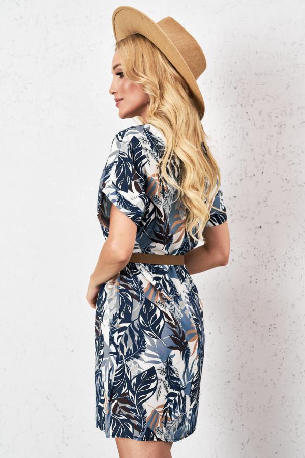 Sukienka w tropikalny print PALM 3