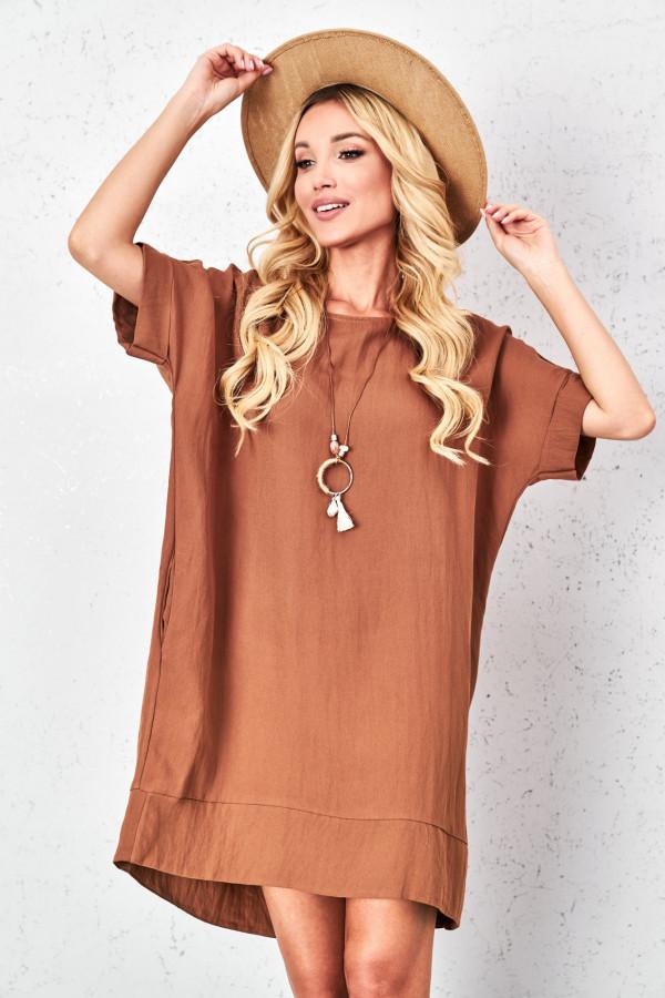 Sukienka oversize z naszyjnikiem KIMBERLY 2