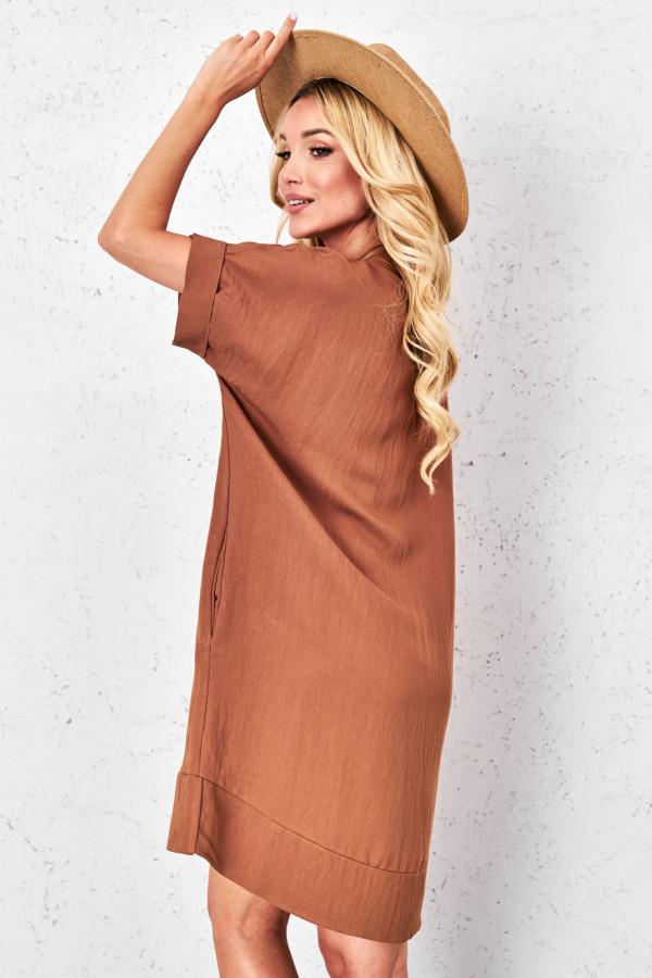 Sukienka oversize z naszyjnikiem KIMBERLY 4