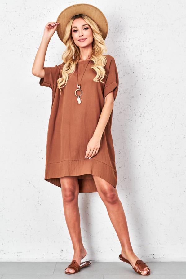 Sukienka oversize z naszyjnikiem KIMBERLY