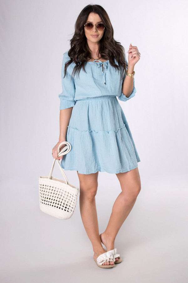 Muślinowa sukienka SALLY