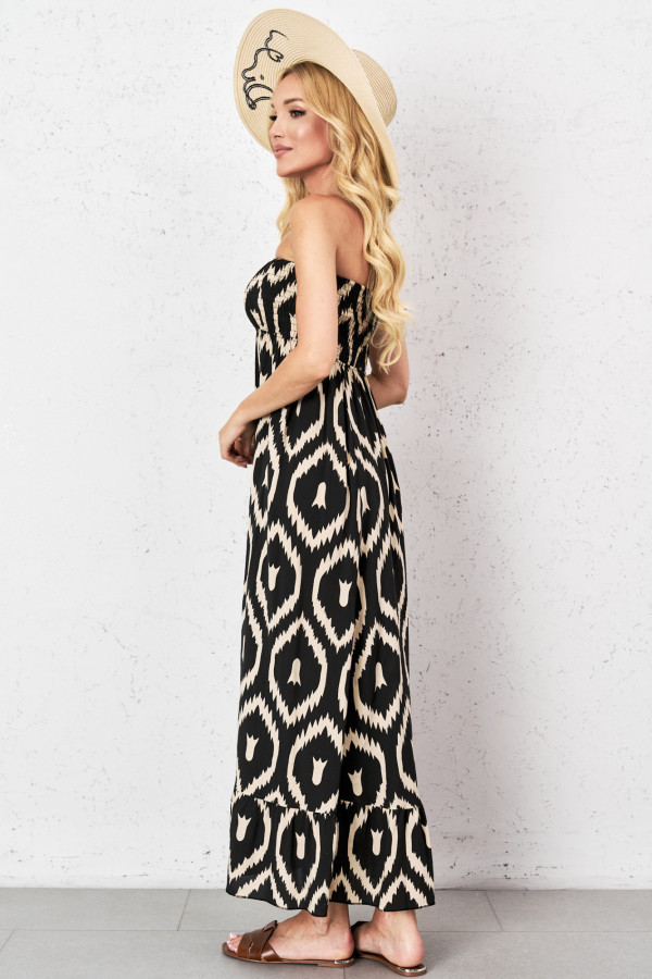 Gorsetowa sukienka maxi CALIOPE 1
