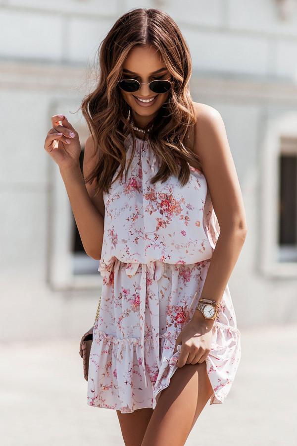 Sukienka w kwiaty CAPRI 2
