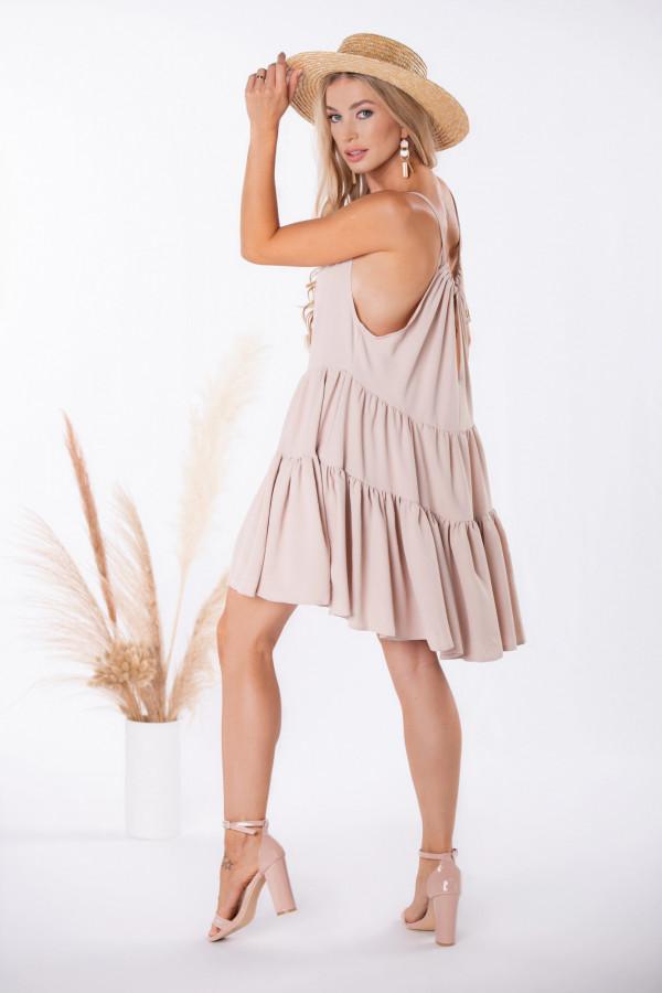 Sukienka z regulowanymi ramiączkami SIENNA