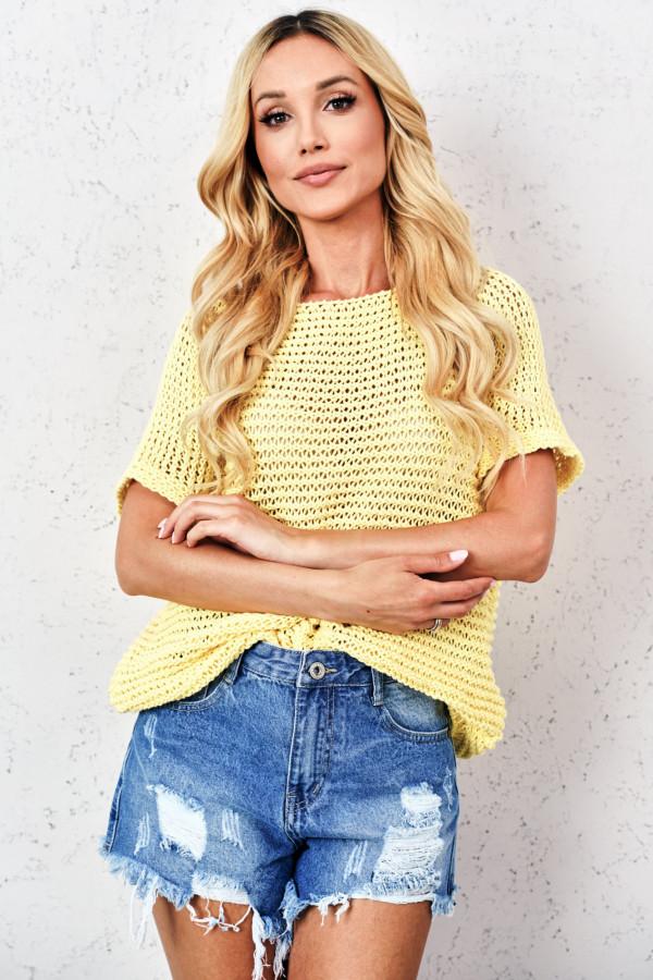 Sweter ażurowy KIASMOS 2
